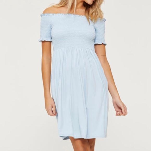 Super Soft Off The Shoulder Dress NWOT